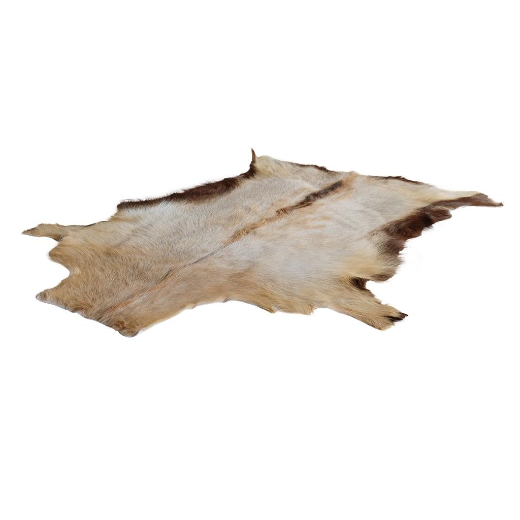 Geitenhuid wit beige bruin