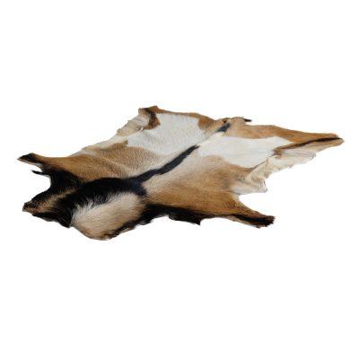 Geitenvel bruin zwart beige