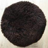 Krukje schapenvacht bruin