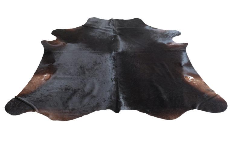 Koeienhuid uni zwart