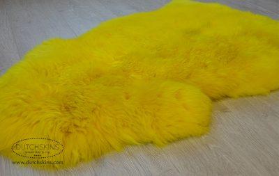 Schapenvacht geel