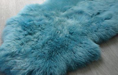 Schapenvacht turquoise