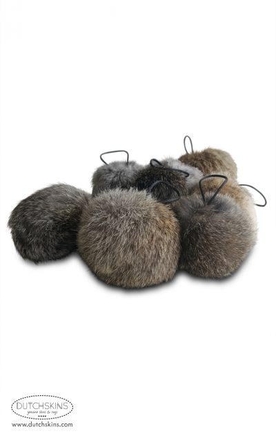 pompon konijnenbont