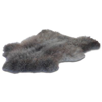 Gotland Pelssau long-haired gray sheepskin