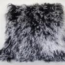 Kussenhoes Tibetaans schaap zwart wit