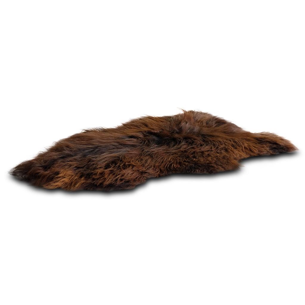 IJslandse schapenvacht bruin