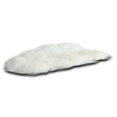 Witte IJslandse schapenvacht