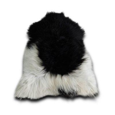 IJslandse schapenvacht zwart wit