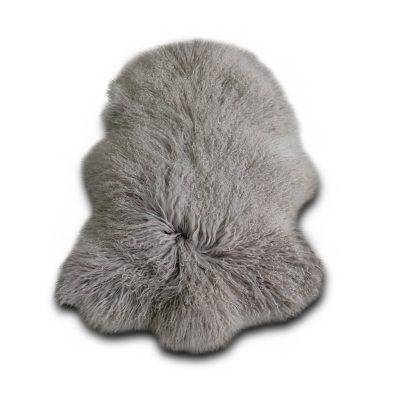 Tibetaanse schapenvacht grijs