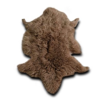 Tibetaanse schapenvacht bruin