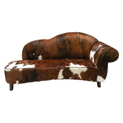 Sofa koeienhuid driekleur