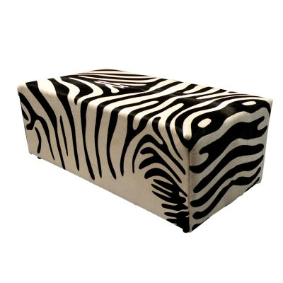 Hocker zebraprint koeienve