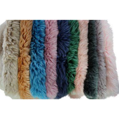 Alle kleuren schapenvachten