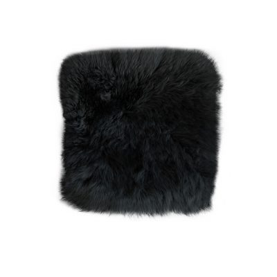 stoelpad vierkant zwart