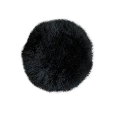 Stoelpad rond zwart