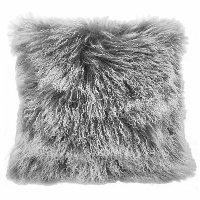 gray white cushion cover tibetan