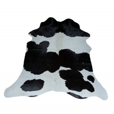 black and white cowhide small