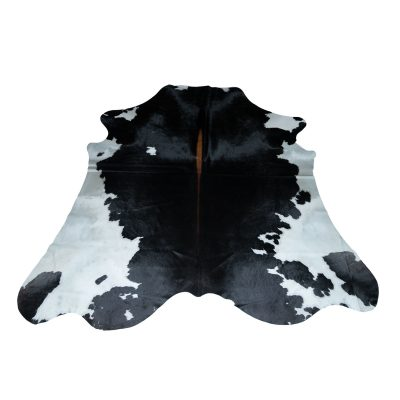 XXL cowhide black and white