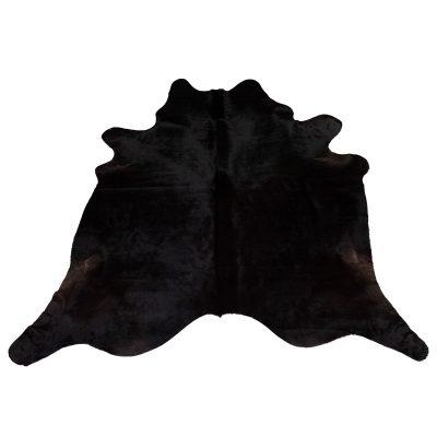 Large black cowhide