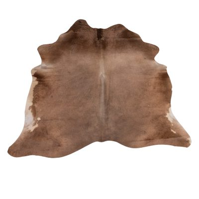 Cowhide / cow cover copper brown