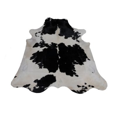 cow-rug-black and white