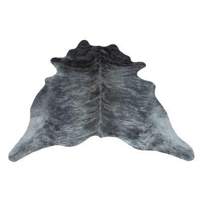 Koeienvel donker grijs