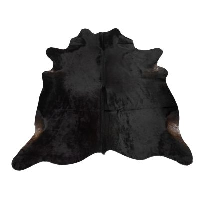 Zwart koeienvel