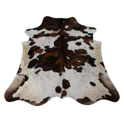 Cowhide brown white black