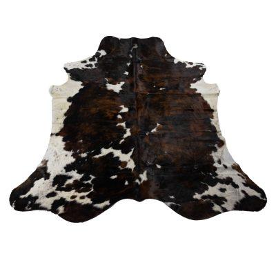 Koeienhuid bruin wit zwart
