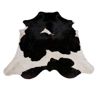zwart witte koeienhuid