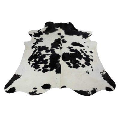 wit zwarte koeienhuid