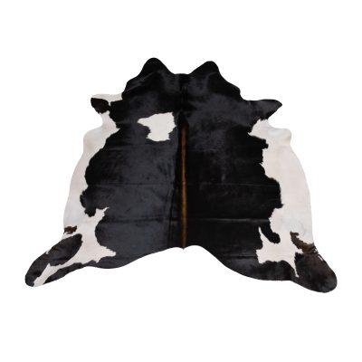 Koeienhuid zwart met wit