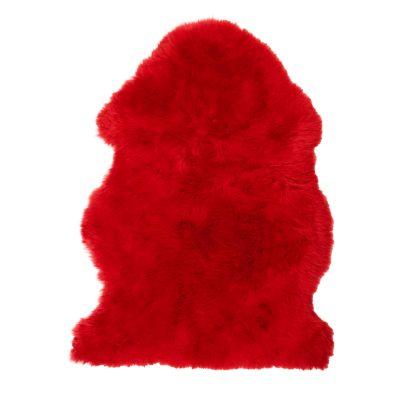 Rode schapenvacht